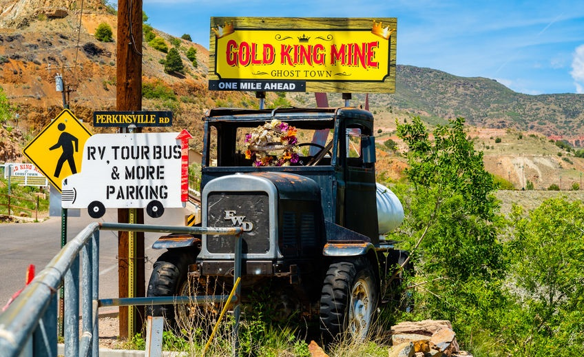 Gold King Mine Ghost Town in Jerome, AZ