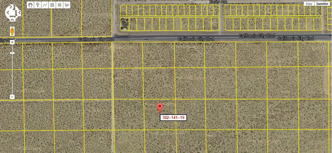 2.55 Acres - Within Shouting Distance of California City!