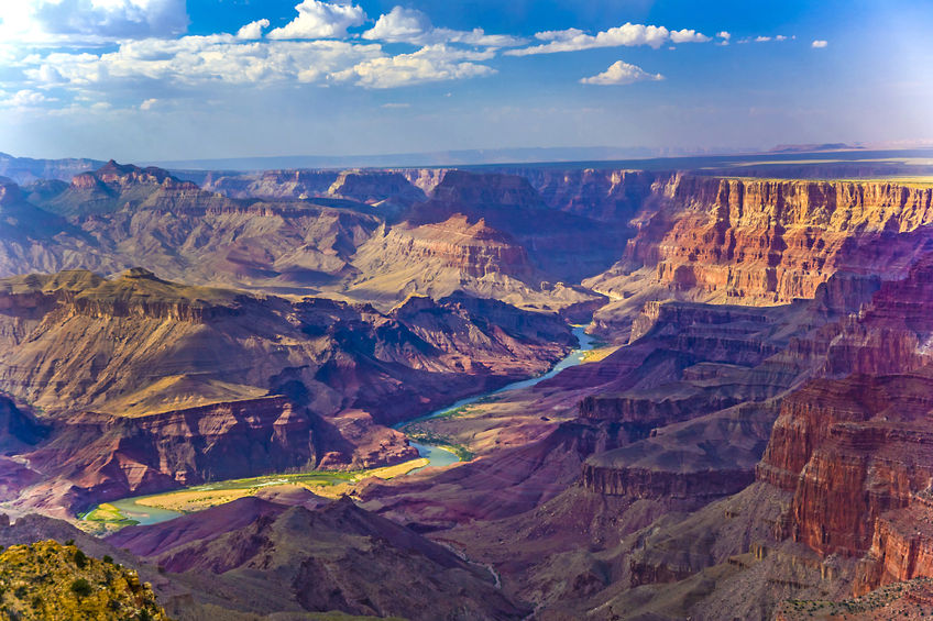 The awesome Grand Canyon