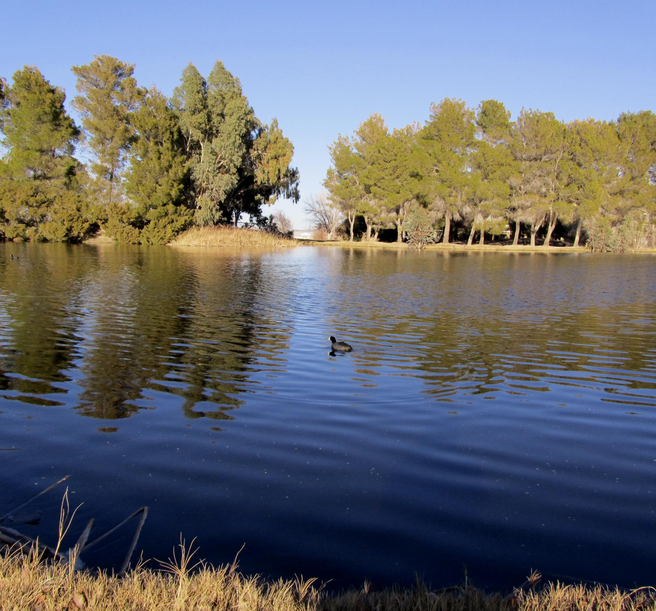 California City's Central Park Lake