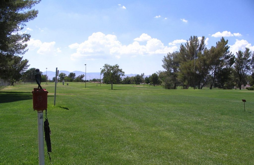 The Public Golf Course at California City's Central Park.