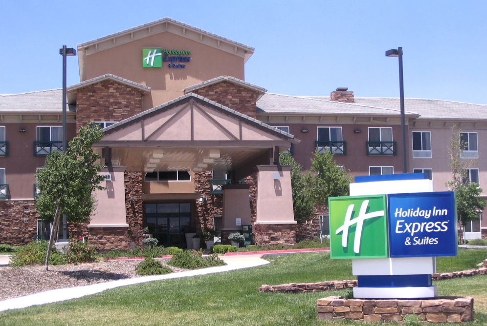 The newly-build Tehachapi Holiday Inn Express & Suites