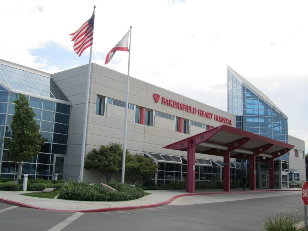 Modern medical facilities are available in Bakersfield