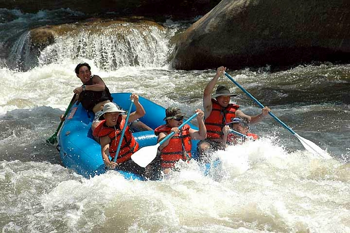 Rafting on the Kern River